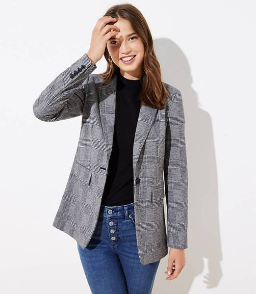plaid-long-knit-modern-blazer